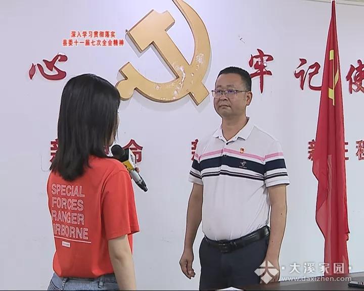 访大溪镇委书记,认真贯彻县委全会精神推进经济社会各...