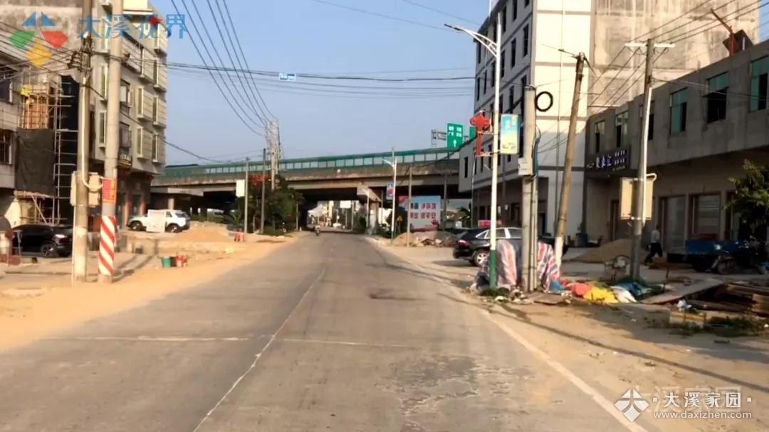 途径大溪镇区(S239省道线)主干道将进行实施改造工程,目前进行招标阶段;全长16.311公里